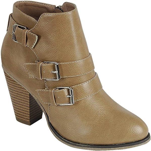 Hemlock Women High Heels Boots Plus Snow Calf Boots Wedge Heel Ankle Shoes Height Increase Slip On Heightened Booties
