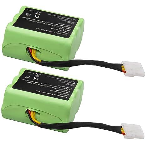 TWO 4000mAh Battery Pack for NEATO XV-11 XV-12 XV-15 Robotic Vacuum cleaner