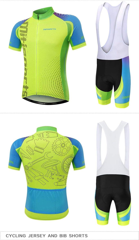Sports Mountain Fluoreszierende Farbe Rennanzugdesign,Strapsuit,XXL Shorts YISHIOR 3D gedruckte Benutzerjacke Fahrradbekleidung atmungsaktives Kissen