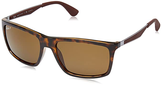 01b2ac53b7 Ray-Ban UV Protected Rectangular Men s Sunglasses (0RB4228710 8358 ...