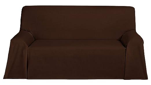 Martina Home Foulard, Tela, Marron, 300 x 270 cm
