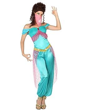 Atosa-26418 Disfraz Bailarina À Rabe, Color celeste, M-L (111 ...