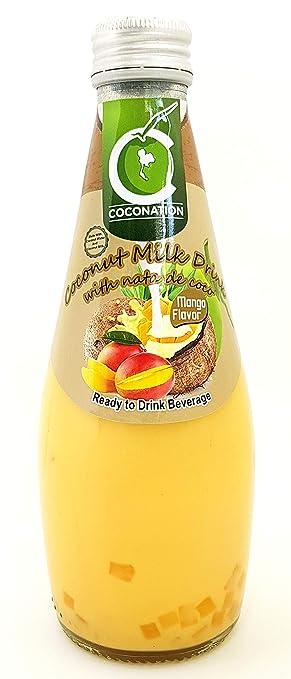 Bebida de coco de coco con Nata de Coco, 9,8 ml de líquido ...