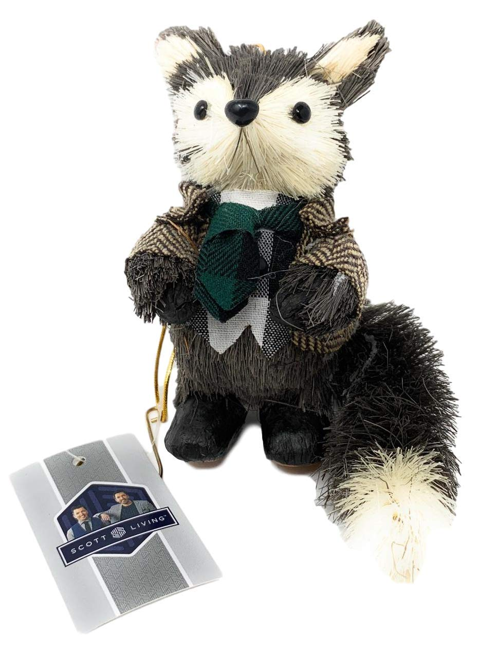 Scott-Living-Luxe-Dapper-Raccoon-Christmas-Ornament
