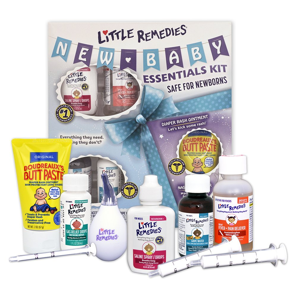 Kit for newborns: choose a set for discharge