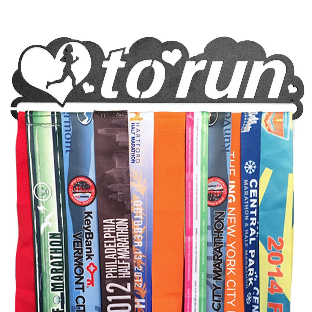 Gone For a Run | Runner's Race Medal Hanger | Love To Run