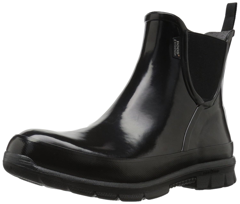 Bogs Womens Amanda Slip on Rubber Boots39 EU|Black