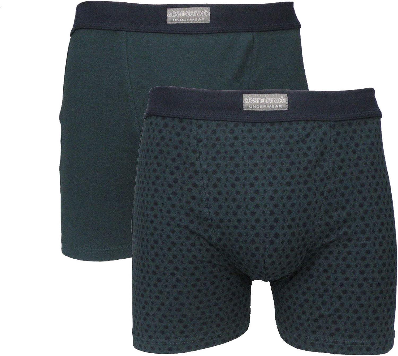 Ocean - Pack 2 Calzoncillos Boxers ABANDERADO Azul Marino, 60/2X