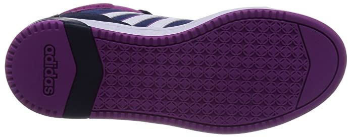 9dd8af492c5a Adidas - Hoops Team Mid W - F98856 - Color  Navy Blue-Violet-White - Size   5.0  Amazon.ca  Shoes   Handbags