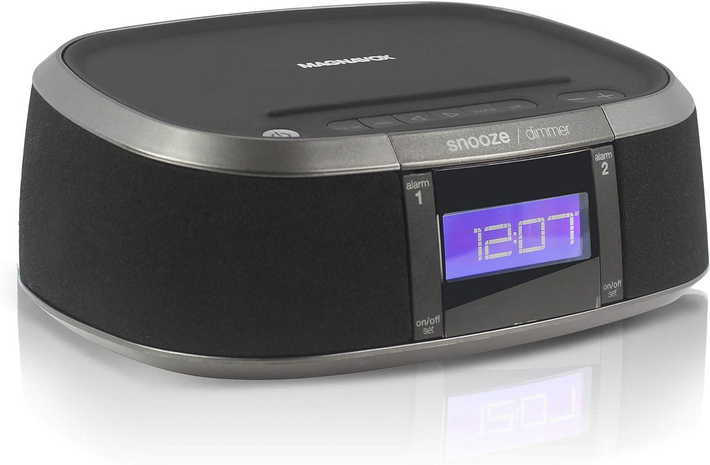 Craig Magnavox - Reloj Despertador Digital con Radio FM PLL y Puerto de Carga USB Activado por Voz: Amazon.es: Electrónica