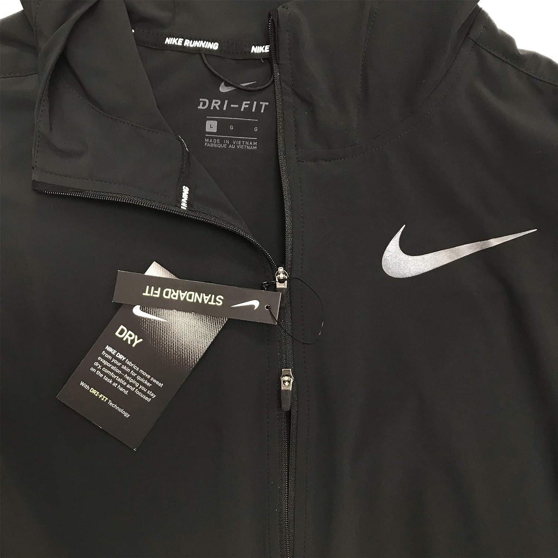 ae66614553 Nike Men's Swift Track Running Jacket at Amazon Men's Clothing store: