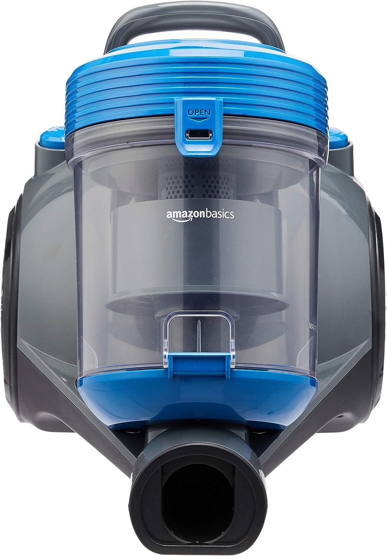 AmazonBasics – Potente aspirador de cilindro sin bolsa, para ...