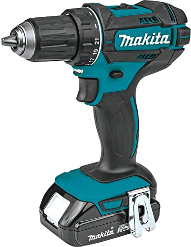 Makita XFD10R 18V Compact Lithium-Ion Cordless 1 2 Driver-Drill Kit