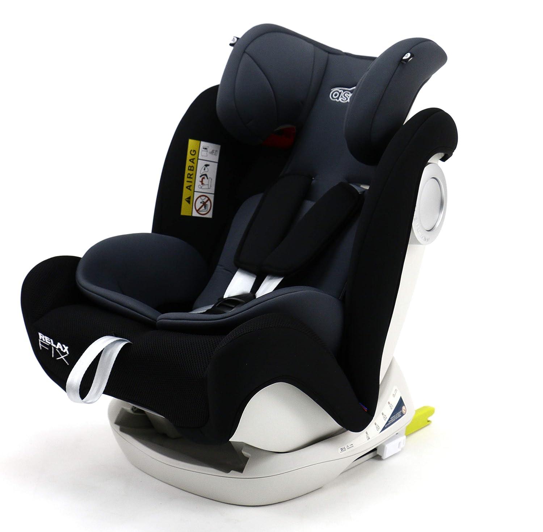 Asalvo Silla de coche grupo 0123 Relax Fix Color Negro
