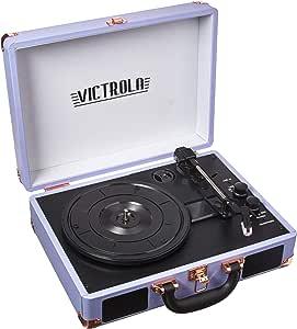 Amazon.com: Victrola Vintage Bluetooth veliz de 3 ...