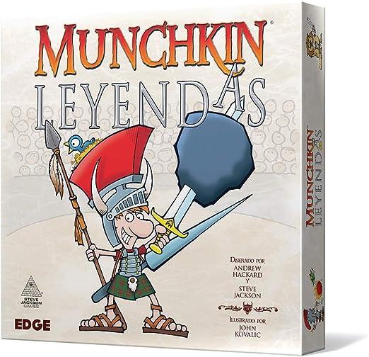 Edge Entertainment Munchkin Leyendas-Español, Color (EESJML01): Amazon.es: Juguetes y juegos