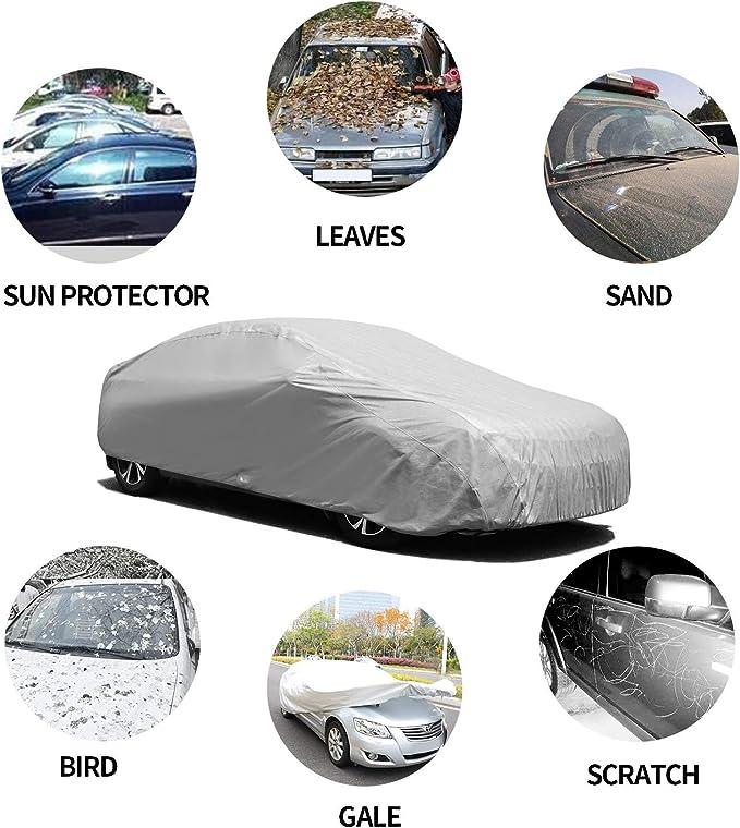 AUDI A5 SPORTBACK WATERPROOF LUXURY PREMIUM CAR COVER COTTON LINED HEAVY DUTY
