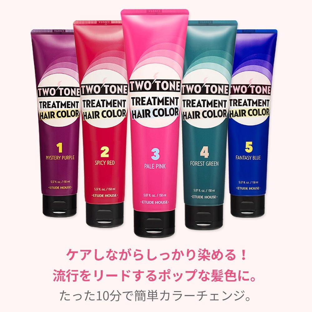 Amazon.com : Etude House Two Tone Treatment Hair Color 150ml (#03 ...