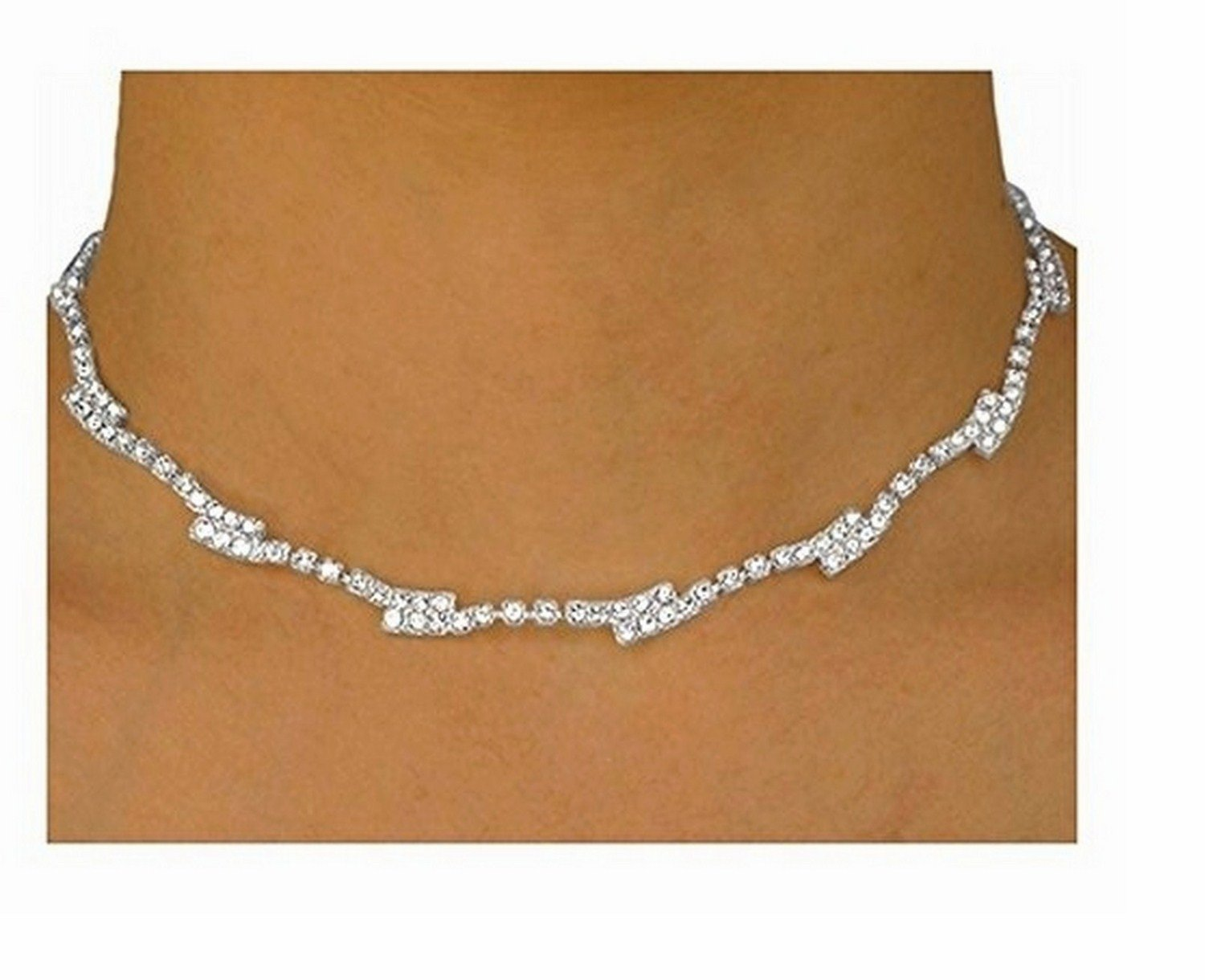 Gorgeous Austrian Crystal Necklace & Earring Set by Lonestar Jewelry