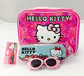 b9412f361a Image Unavailable. Image not available for. Color  Hello Kitty Insulated Lunch  Bag ...