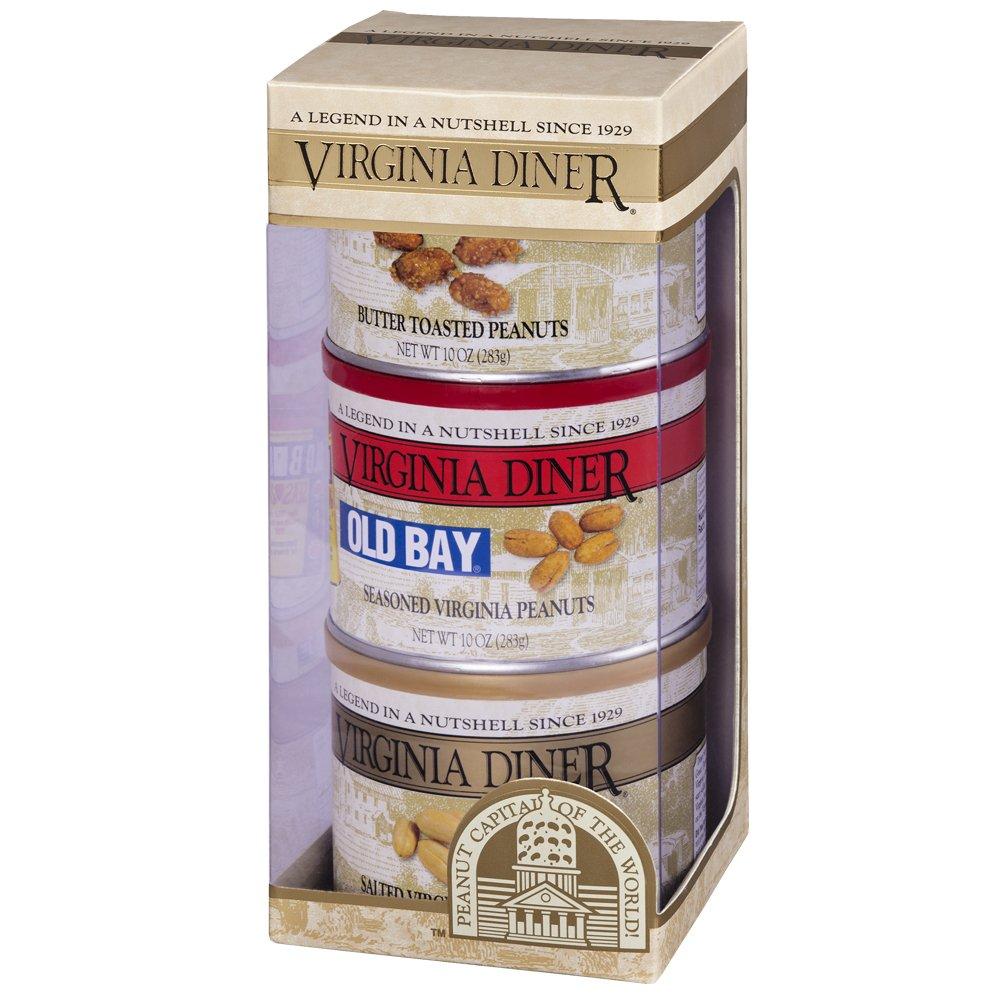Virginia Diner Seasoned Triplet Variety Pack, 10-Ounce Tins