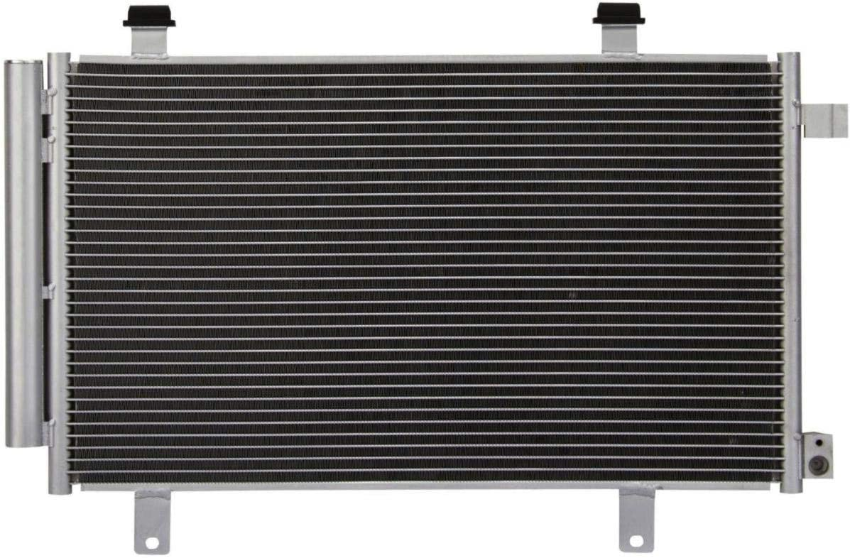 ASL CU3693 16mm Core A//C Air Condition Condenser All Aluminum without Oil Cooler for 2007-2014 SX4 2012 SX4 Crossover