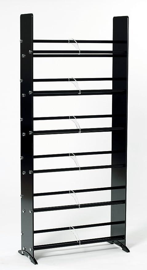 Superbe TransDeco Glass CD DVD Rack For 234 DVD/Blu Ray/Game 336 CD