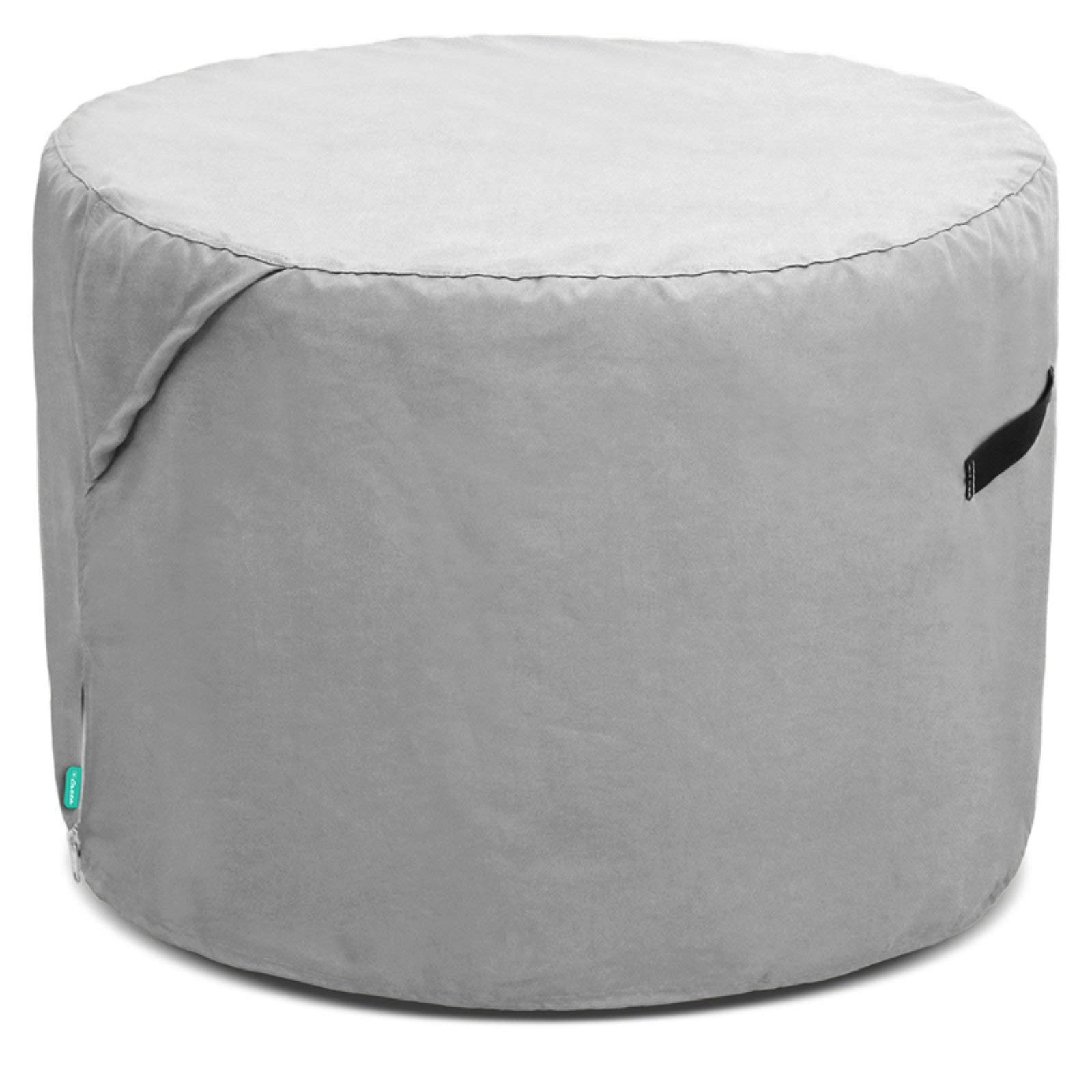 OKSLO Universal outdoor ufcoz2818pt patio round ottoman cover