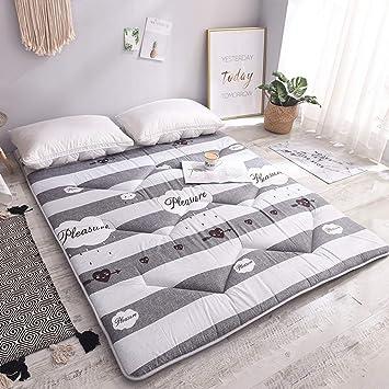 mattress Colchón de Esponja para niños,Espesar Estera de Tatami Colchón Plegable para Estudiantes Adecuado para el Yoga, la meditación: Amazon.es: Hogar