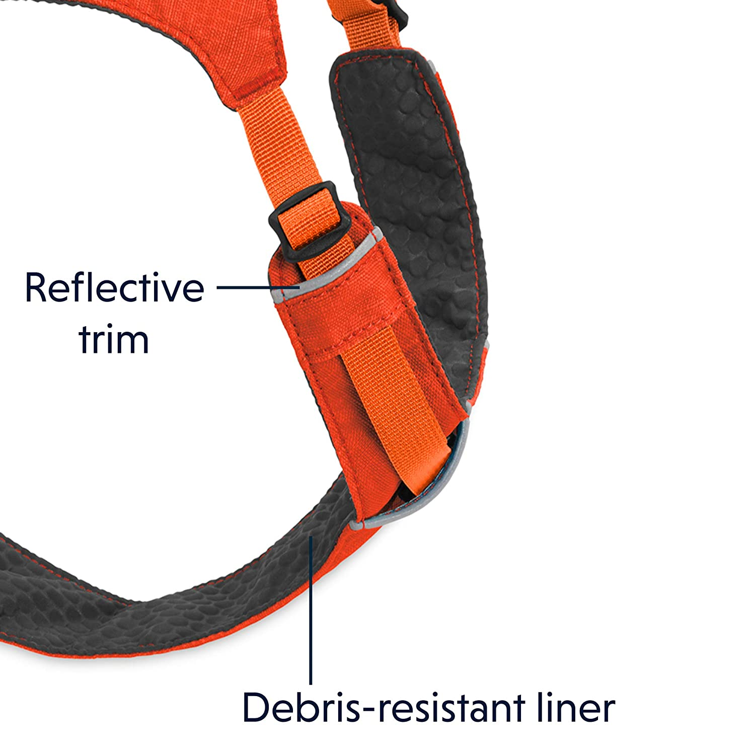 3082-601LL1 Large to Very Large Breeds Sockeye Red Hi /& Light Harness Ruffwear Lightweight Dog Harness Size: Large//X-Large Adjustable Fit