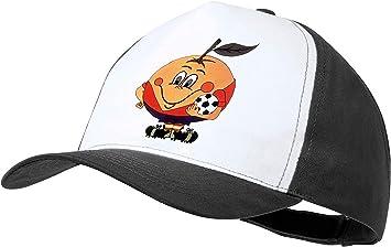 MERCHANDMANIA Gorra Negra Naranjito Mascota Mundial ESPAÑA Color Cap: Amazon.es: Deportes y aire libre