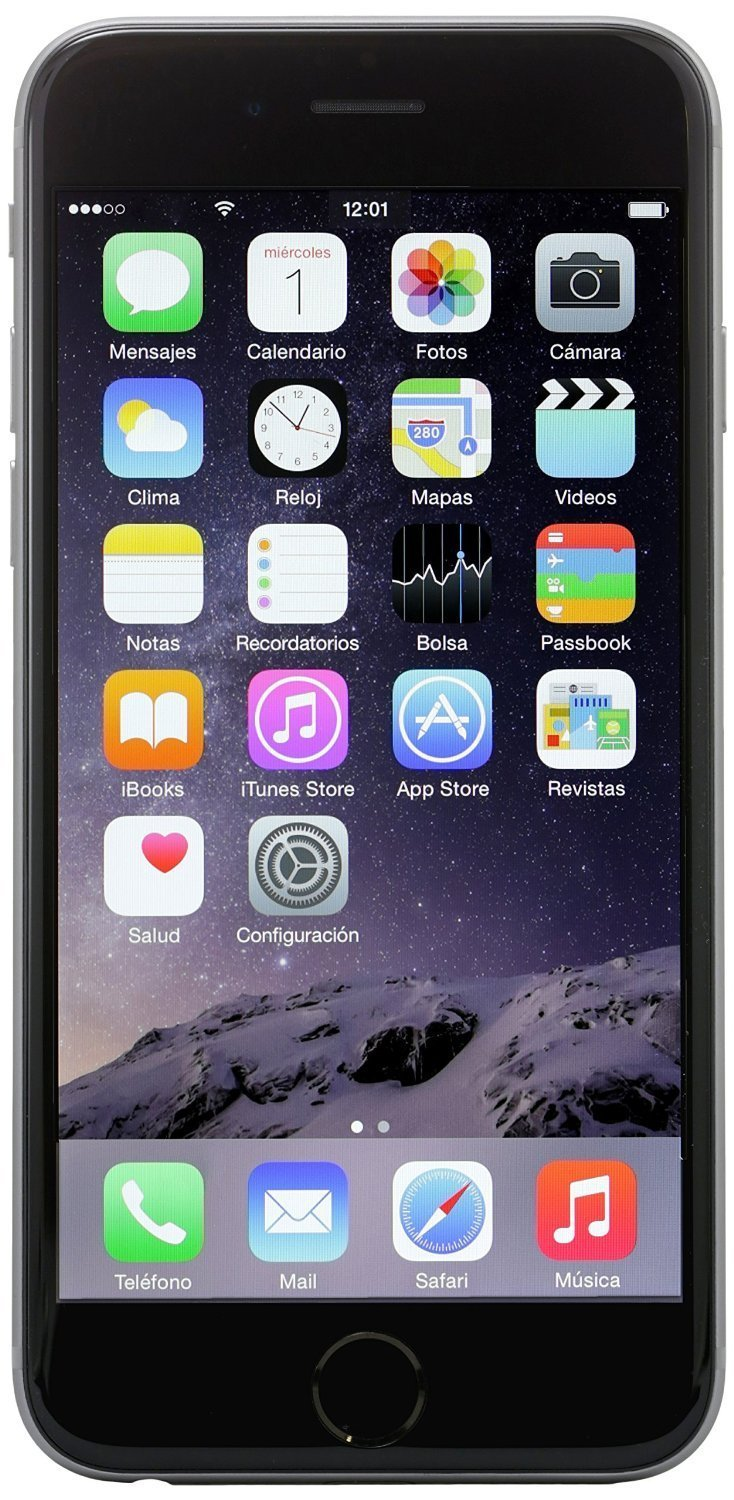 Apple iPhone 6, T-Mobile, 16GB - Space Gray (Certified Refurbished)