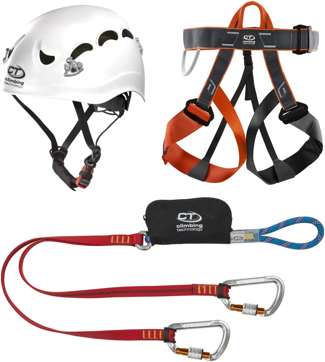 Climbing Technology Kit Ferrata Classic - Casco de Escalada, Color ...