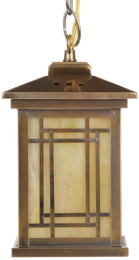 Amazon.com: dale tiffany th10890 misión lámpara de techo ...