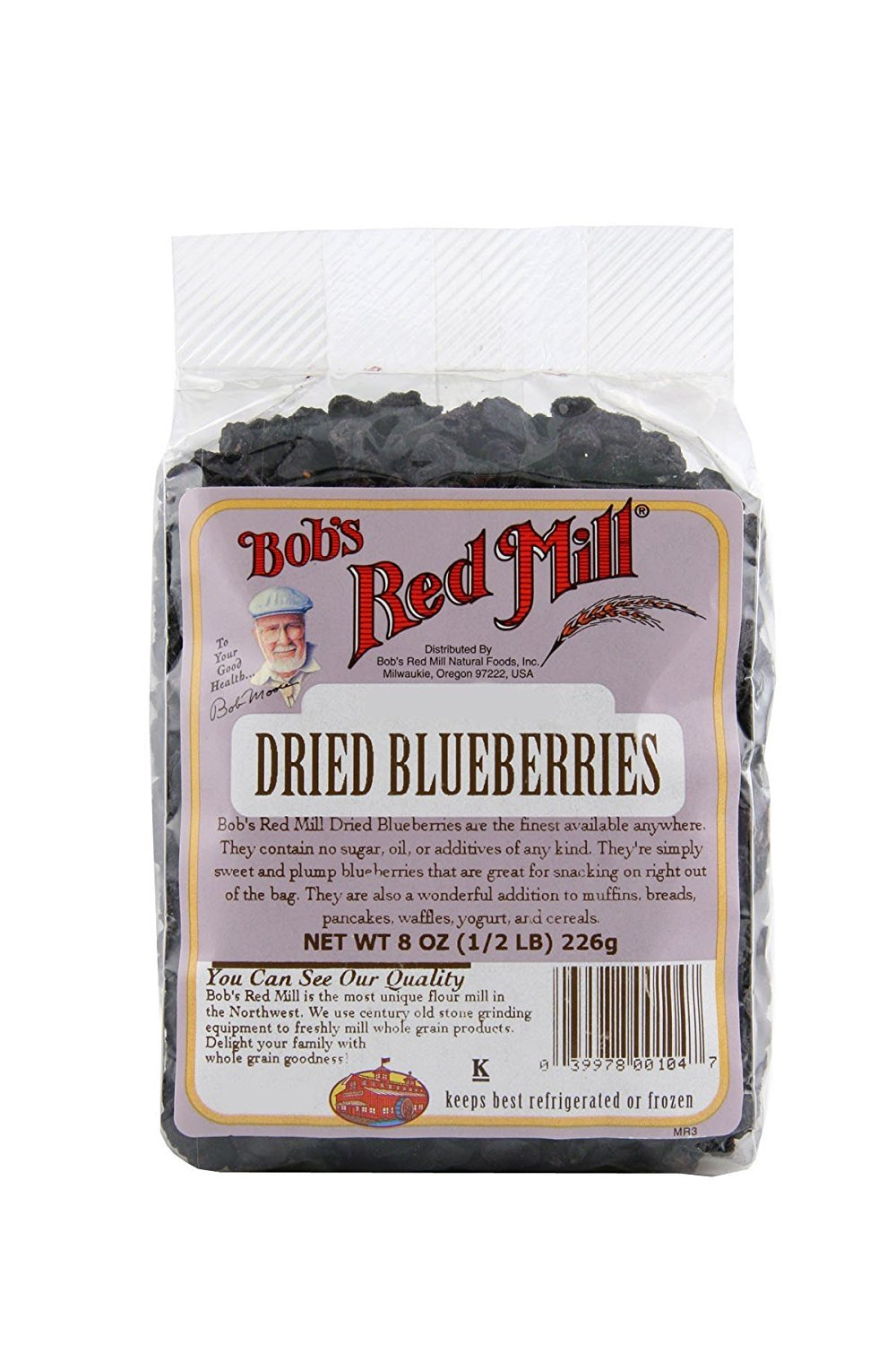 Bob's Red Mill Dried Blueberries, 8-ounce