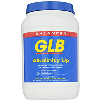GLB Pool and Spa Products 71202 7-1/2-Pound Alkalinity Up Pool Water Balancer : Swimming Pool Ph Balancers : Garden & Outdoor