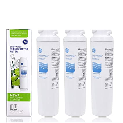 .com: 3 pack replacement for mswf ge smartwater refrigerator ...