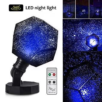 Amazoncom Lisnec Star Lighting Lamp 5 Led Beads Romantic