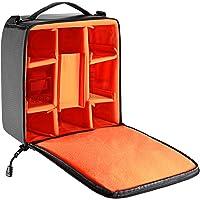 Neewer® Flexible Partition Camera Padded Bag Insert Protection Handbag for SLR DSLR Mirrorless Cameras and Lenses,Flash…