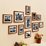 Painting Mantra Brown Boulevard Set of 11 Individual Photo Frame/Wall Hangings for Home Dã©Cor