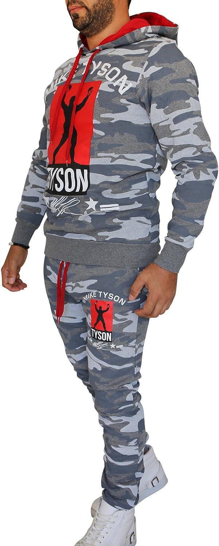 Chándal para hombre/Muhammad Ali Champion/Pantalón + Sudadera/Slimfit 2 - Camouflage - Anthrazit M: Amazon.es: Ropa y accesorios