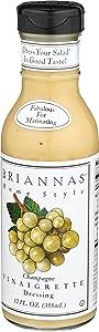 Brianna's Vinaigrette Dressing - Champagne Vinaigrette - 12 Ounces