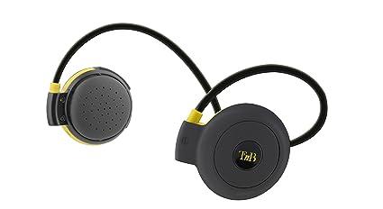 T´nB Auriculares Deportivos Inalámbricos con Tecnología Bluetooth 4.0, Micrófono y Botones de Control