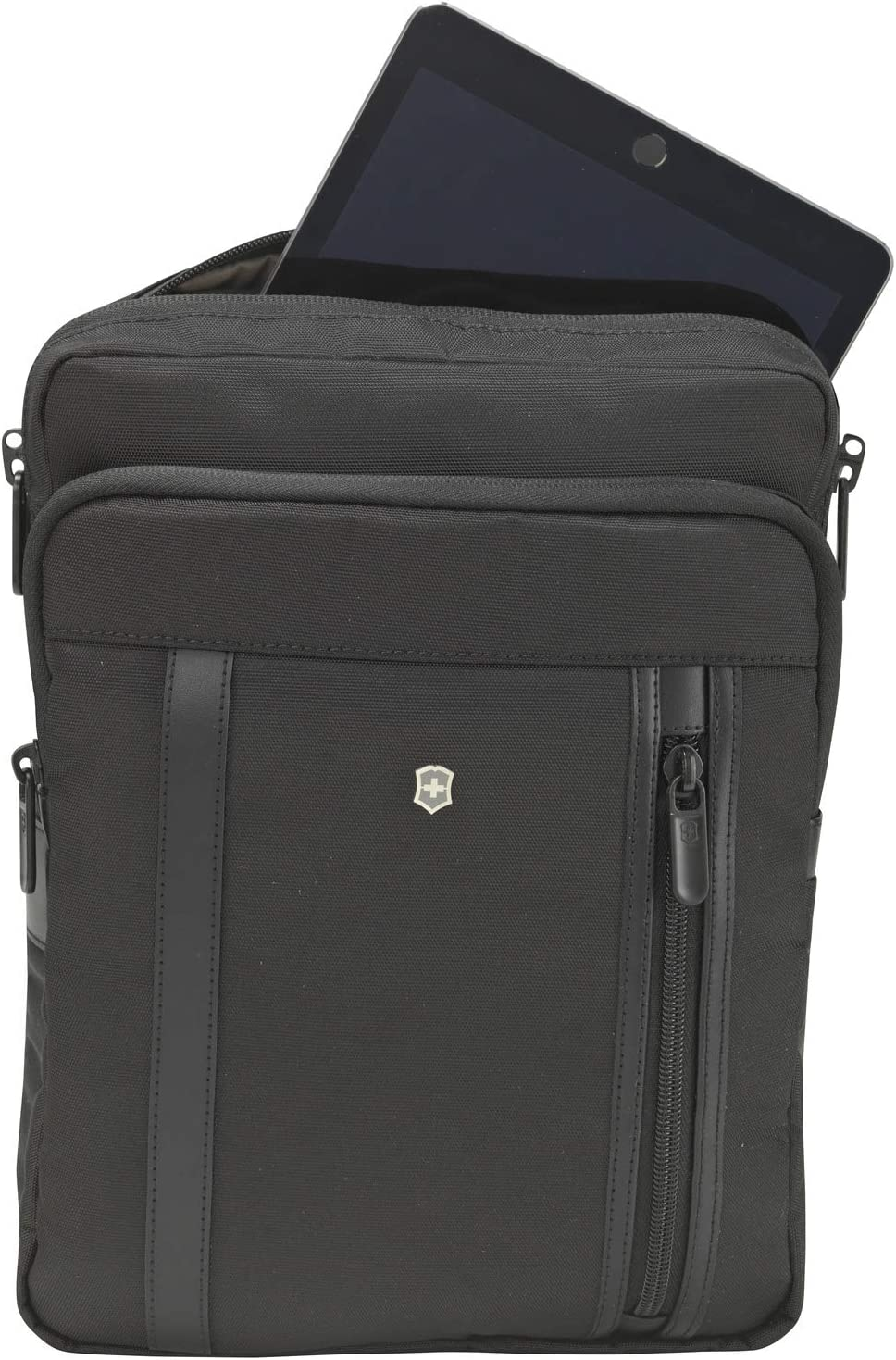 Victorinox Werks Professional 2.0 Crossbody Laptop Bag, Black, 12.6-inch
