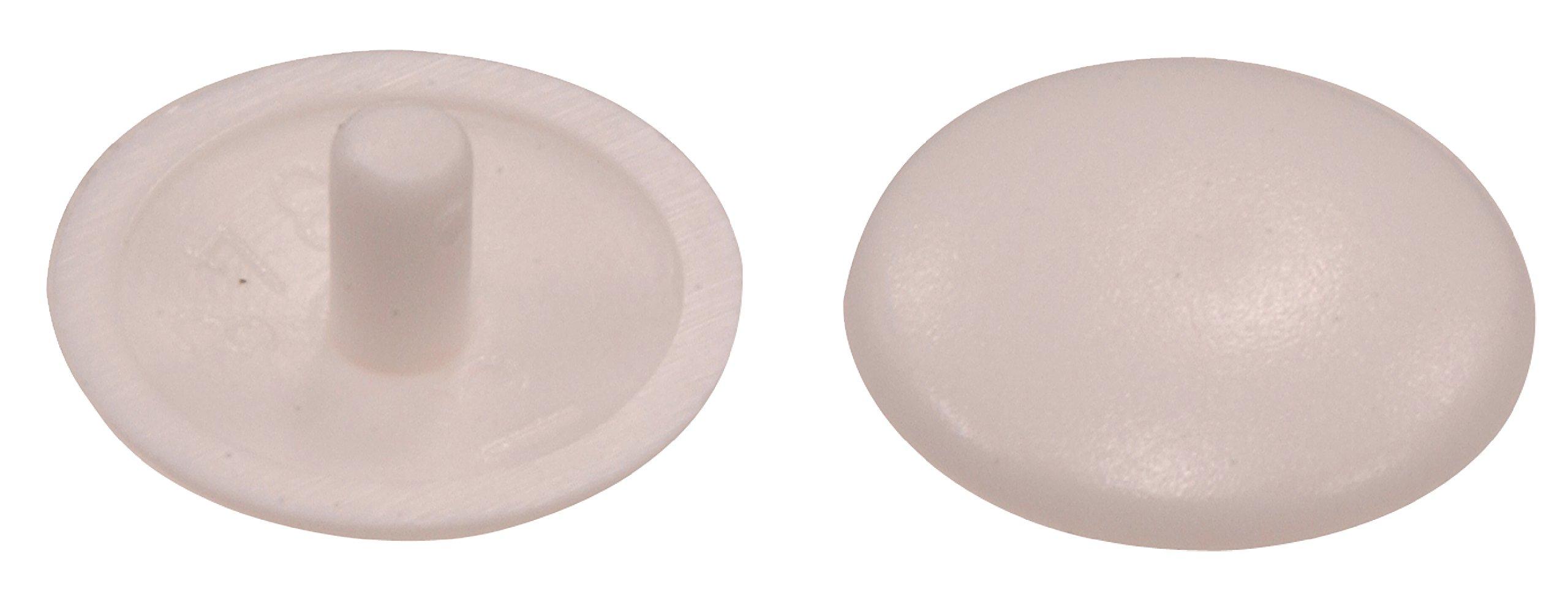The Hillman Group 57213   Trim Caps, White, 25-Pack