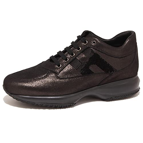 5643O sneaker INTERACTIVE nero scarpa donna shoe woman