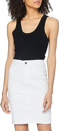 Vero Moda Vmhot Nine HW Dnm Pencil Skirt Mix Noos Falda para Mujer