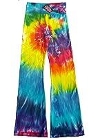 Rainbow Spiral Tie Dye American Apparel Yoga Pants