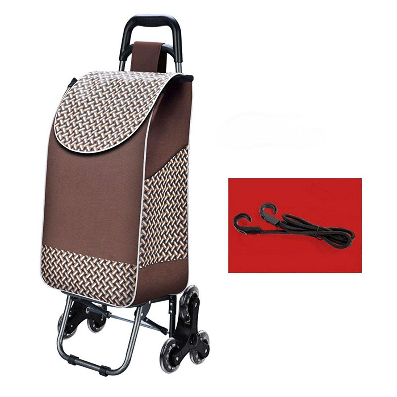 Arong ショッピングカート 重い荷物も楽々移動 防水 軽量 大容量 3輪付き キャリー ショッピングカート B073YCS74W 2 2