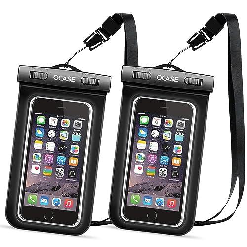 OCASE Custodia Impermeabile Cellulari Cellphone con tracolla Cover waterproof Antiurto Case Snowproof Antipolvereper Apple iPhone 7 / 6S / 6S Plus / SE / 5S / Samsung Galaxy S7 / S7 Edge / Bordo / S6 nota 5 / HTC / LG / Sony / Nokia / Motorola / Huawei / Lumia